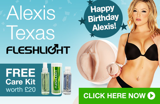 Alexis Texas Fleshlight Girls with FREE Fleshlight Care Kit