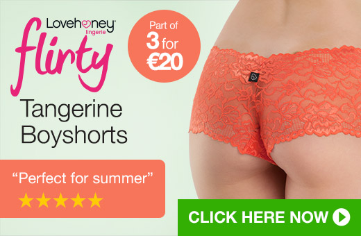 Lovehoney Flirty Tangerine Boyshorts