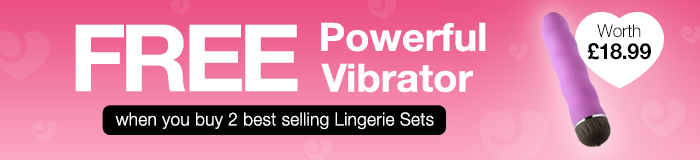 FREE Powerful Vibrator when you buy 2 best selling lingerie sets