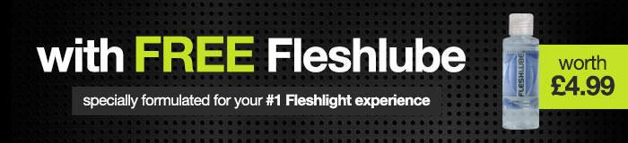 Fleshlight with FREE lube worth 4.99