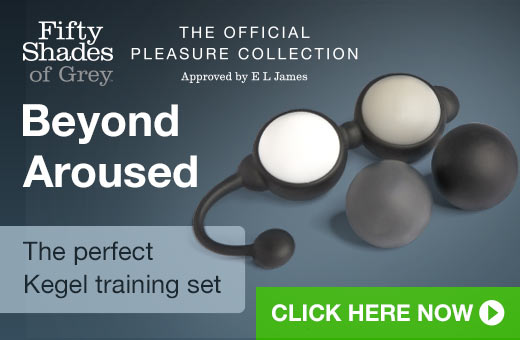 Fifty Shades of Grey Beyond Aroused Kegel Training Set