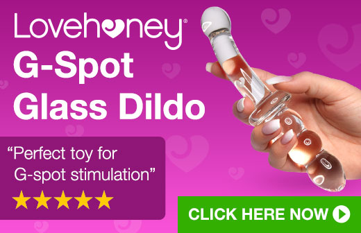 Lovehoney G-Spot Glass Dildo