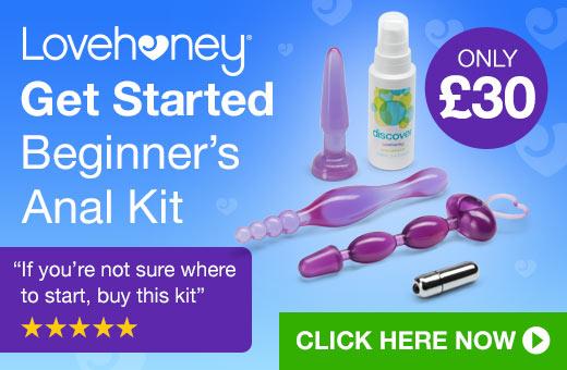 ^Lovehoney Get Started Beginner's Anal Kit