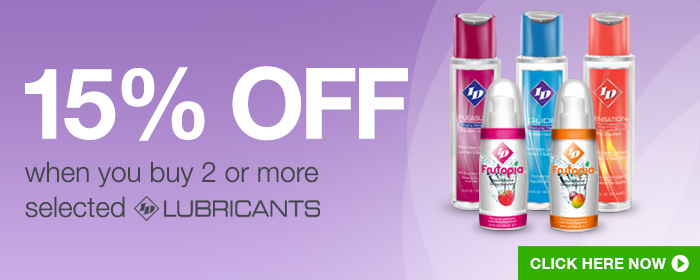 15% off when you buy 2 selected ID Lubricants