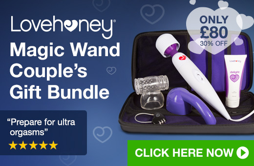30% off Lovehoney Magic Wand Gift Bundle