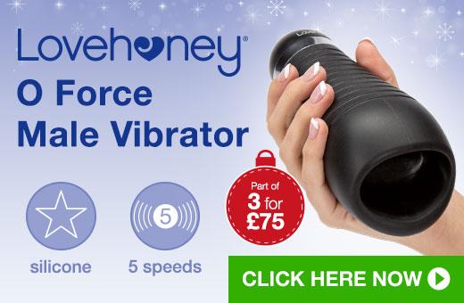 Lovehoney O Force Male Vibrator