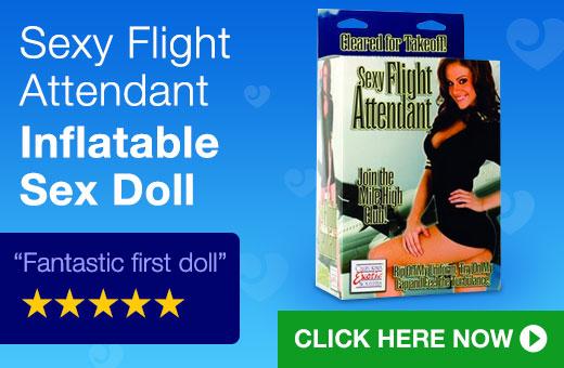 Sexy Flight Attendant Sex Doll