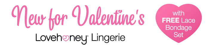 NEW Lovehoney Lingerie FREE Sexy Gifts with Selected Sets
