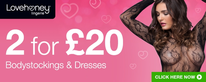 2 for @pound;20 Bodystockings and Dresses