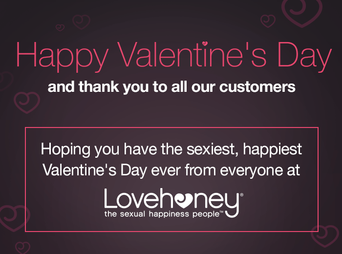Happy Valentine's Day and Thank You!