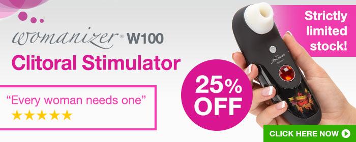 ^25% OFF Womanizer W100