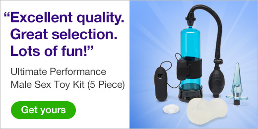 ^ Ultimate Performance Male Sex Toy Kit (5 Piece)