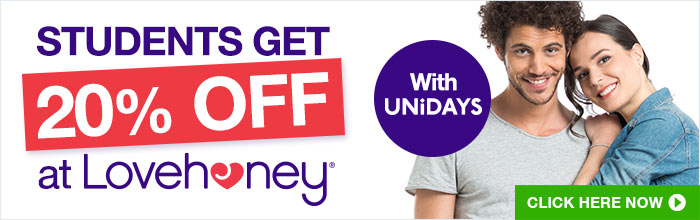 Students get 20% off with UNiDAYS
