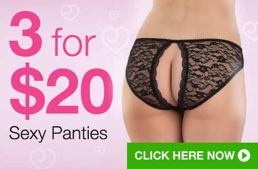 3 for $20 Sexy Panties
