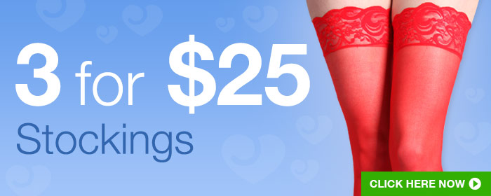3 for 25 stockings