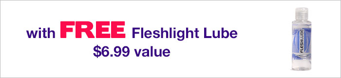 Fleshlight with FREE lube $6.99 value