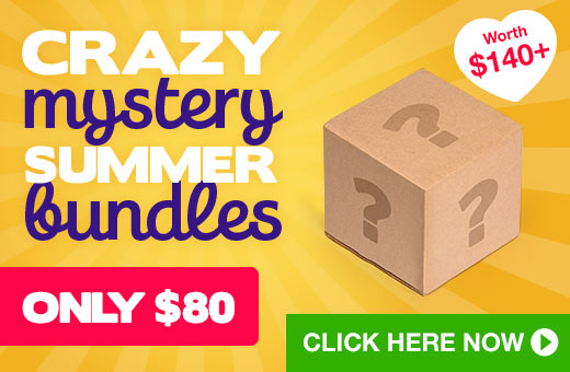 ^ Crazy Mystery Bundles! $140+ worth for just $80