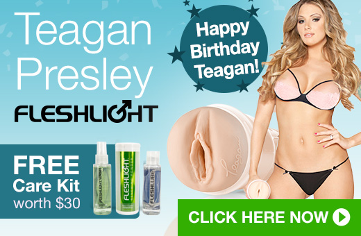 Teagan Presley Fleshlight Girls with FREE Care Kit