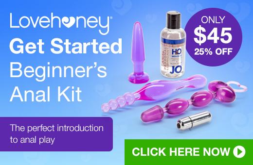 Lovehoney Get Started Beginner's Anal Kit