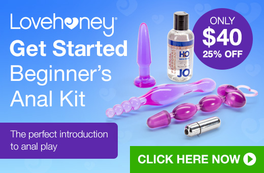 Lovehoney Get Started Beginner's Anal Kit
