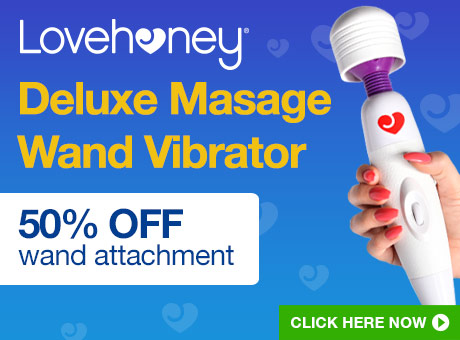 Lovehoney Deluxe Massage Wand Vibrator