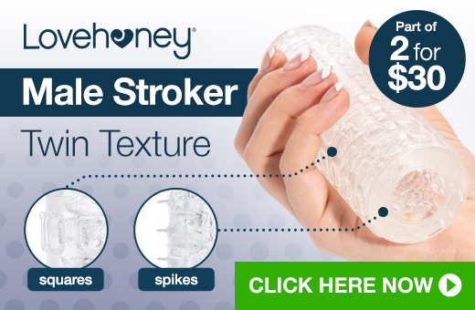 Lovehoney Extreme Twin Texture Male Stroker