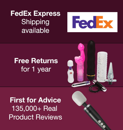 FedEx Express Shipping available, Free Returns for 1 year, First for Advice
