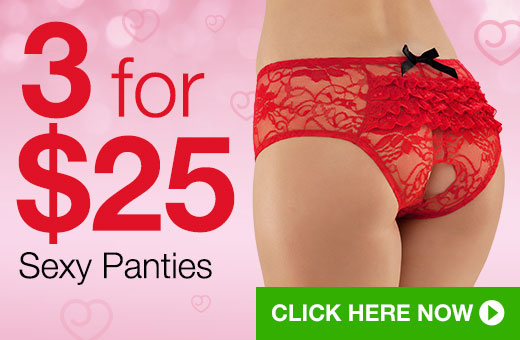 3 for $25 Sexy Panties