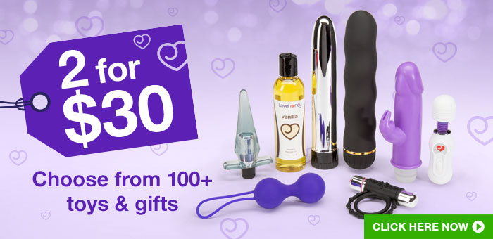 2 for $30: choose from 100+ toys and gifts