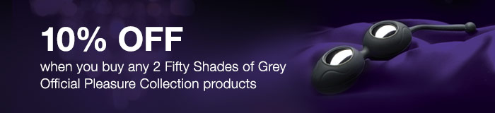 10% OFF Fifty Shades of Grey Official Please Collection