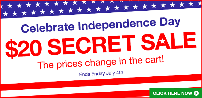 4th of July Secret Sale