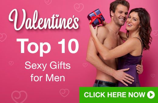Top 10 Sexy Gifts for Men for Valentine's Day