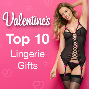 Top Ten Lingerie Gifts for Valentine's Day