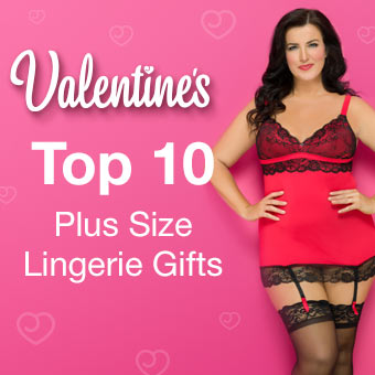 Top 10 Plus Size Lingerie Gifts for Valentine's Day