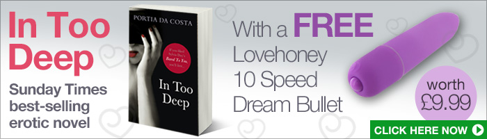 Get a sensual gift with Lovehoney's Erotic Book of the Month