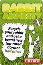 Microsoft's iPod Amnesty Taking Cue from Lovehoney's Rabbit Amnesty?