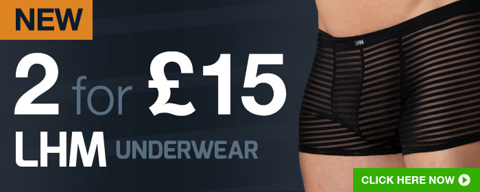 2 for @pound;15 LHM Underwear