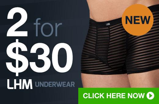 2 for $30 LHM Underwear