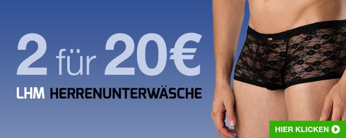 2 für 20€ LHM Herrenunterwäsche
