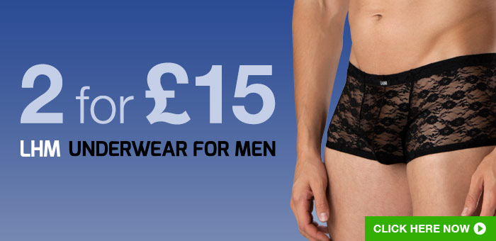 2 for @pound;15 LHM Underwear For Men