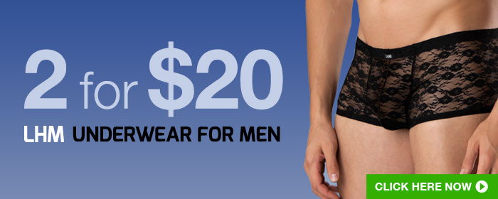2 for $20 LHM Underwear For Men