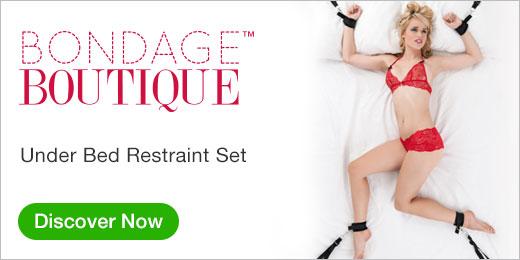 Bondage Boutique Under Bed Restraint Set