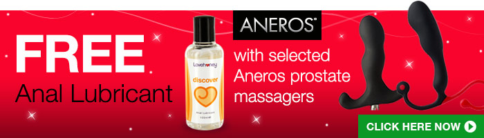 Free Anal Lube with Selected Aneros Massagers