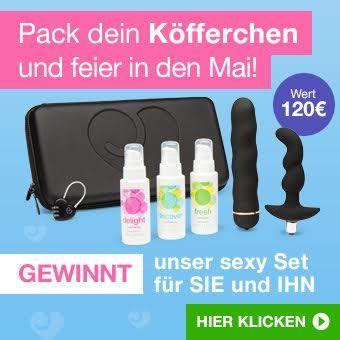 Gewinne dein Sexspielzeug-Set mit Koffer