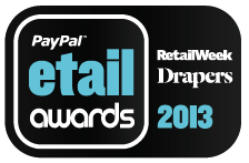 PayPal Etail Awards 2013