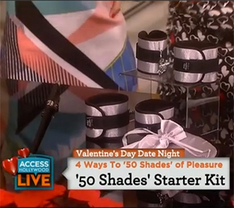 Official Pleasure Collection on Access Hollywood Live