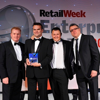 Lovehoney at the Retail Week Enterprise Awards