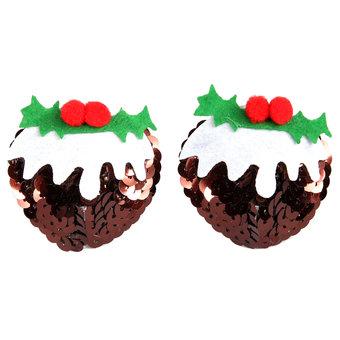 Christmas Pudding Nipple Pasties