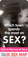 Which town spends the most on sex?