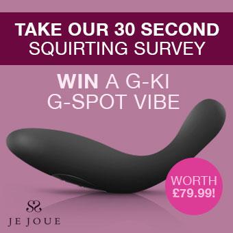 Win a G-Ki vibrator!